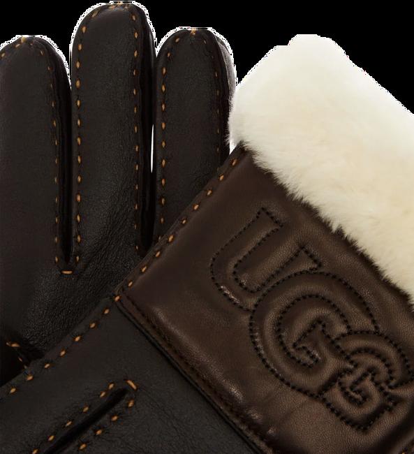 Zwarte UGG Handschoenen SHEEPSKIN LOGO GLOVE - large