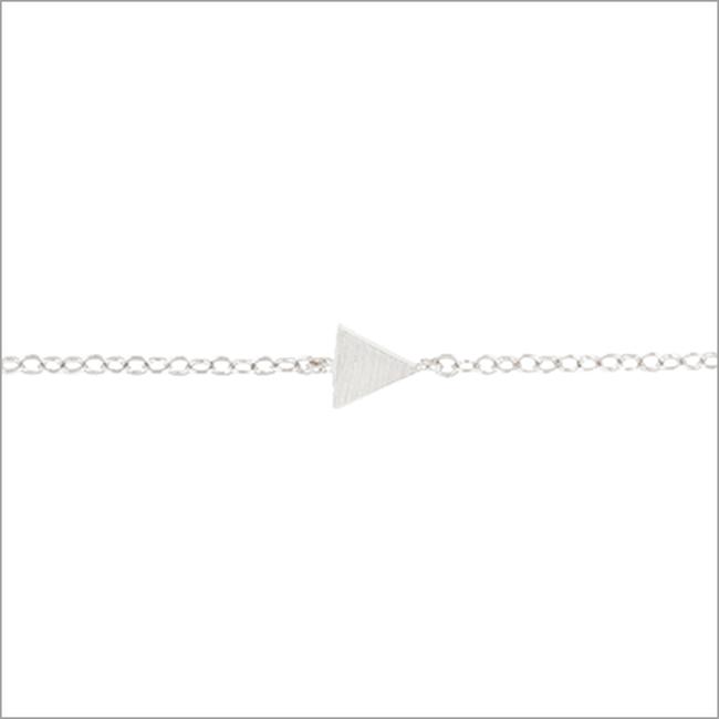 Zilveren ATLITW STUDIO Armband ELEMENTS BRACELET TRIANGLE SOLID - large
