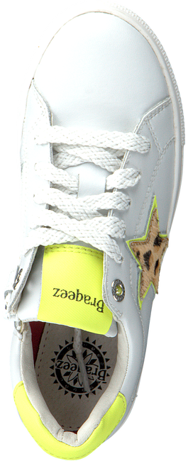 Witte BRAQEEZ Lage sneakers LEIGH LOUWIES  - large