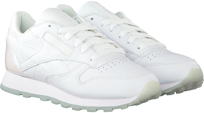 Witte REEBOK Sneakers CL LEATHER WMN - large