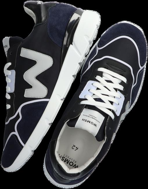 Blauwe WOMSH Lage sneakers RUNNY HEREN  - large