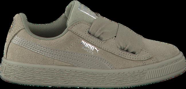 Grijze PUMA Sneakers SUEDE HEART SNK PS  - large