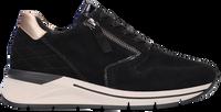 Zwarte GABOR lage sneaker 588 - medium