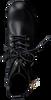 Zwarte TOMMY HILFIGER Enkellaarsjes COPPORATE TASSEL BIKER BOOT - small