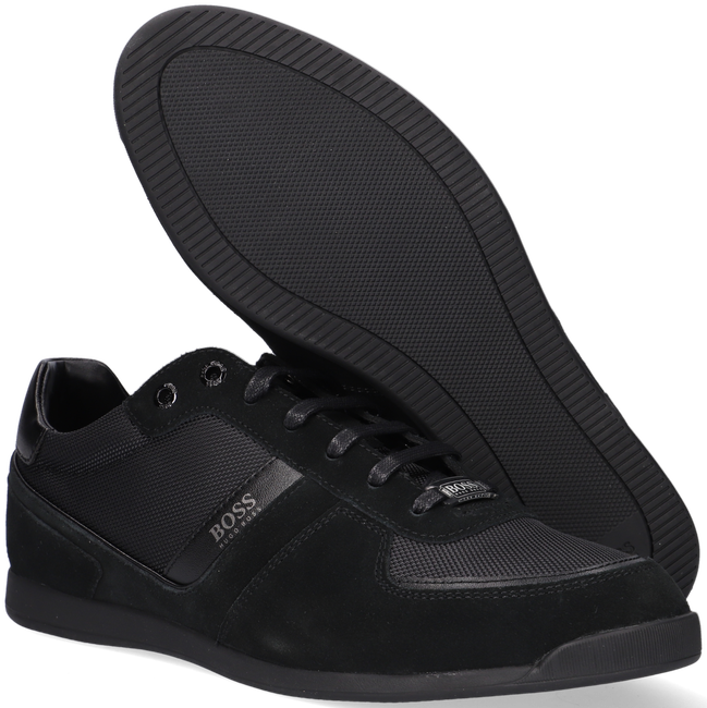 Zwarte BOSS Sneakers GLAZE LOWP - large