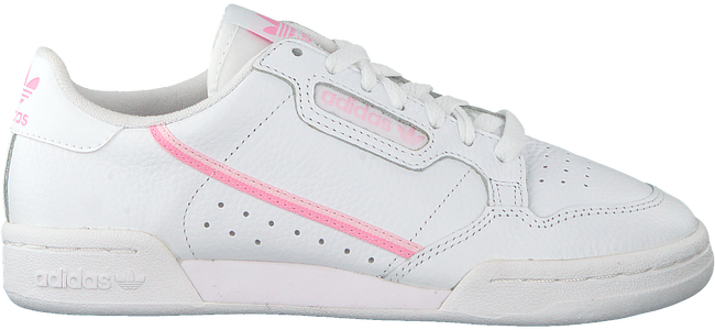 Witte ADIDAS Sneakers CONTINENTAL 80 W  - large