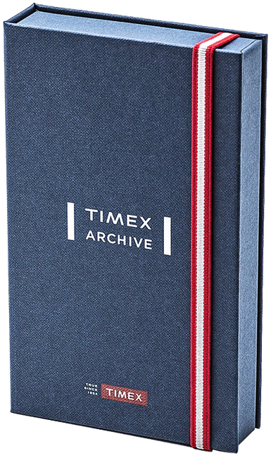 Zwarte TIMEX Horloge WATERBURY CHRONO - large