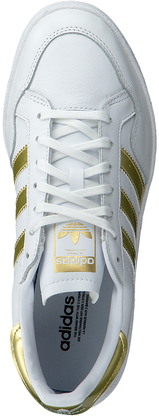 Witte ADIDAS Lage sneakers TEAM COURT W  - larger
