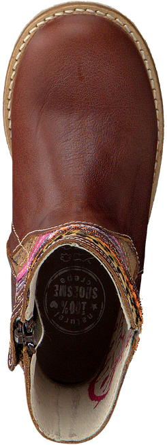 Cognac SHOESME Lange laarzen CR7W101  - large