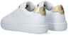 Witte TOMMY HILFIGER Lage sneakers METALLIC LEATHER CUPSOLE  - small
