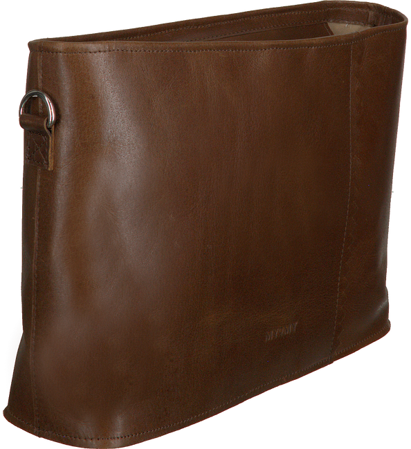 Bruine MYOMY Schoudertas MY PAPER BAG WRAPPED CROSSBODY  - large