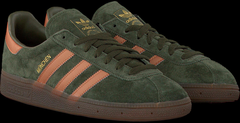 Groene ADIDAS Sneakers MUNCHEN HEREN   Omoda