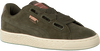 Groene PUMA Sneakers SUEDE HEART VR DAMES  - small
