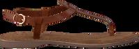 Bruine LAZAMANI Sandalen 75.618  - medium