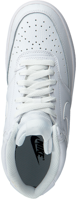 Witte NIKE Lage sneakers COURT VISION MID WMNS  - large