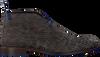 Grijze FLORIS VAN BOMMEL Veterschoenen 10203  - small