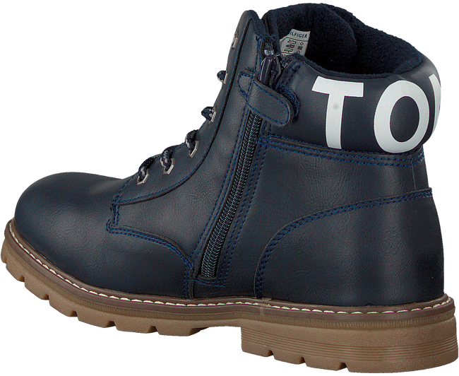 Blauwe TOMMY HILFIGER Veterboots 30529  - large