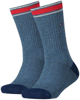 Blauwe TOMMY HILFIGER Sokken TH KIDS ICONIC SPORTS SOCK 2P - medium