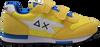 Gele SUN68 Lage sneakers BOYS NIKI NYLON SOLID  - small