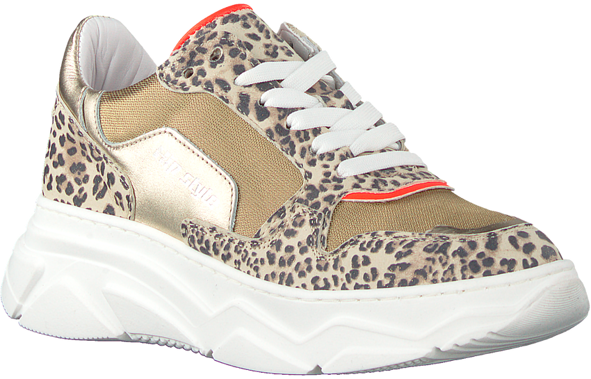 Gouden HIP Lage sneakers H1266  - larger