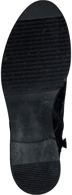 Zwarte MJUS Veterboots 108221 - large