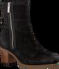 Zwarte SHABBIES Enkellaarsjes 182020218  - small