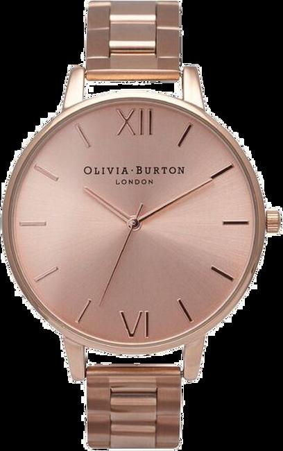 Gouden OLIVIA BURTON Horloge BIG DIAL BRACELET - large