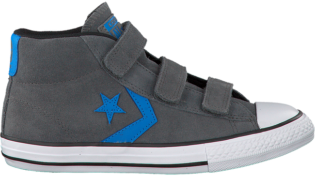 Grijze CONVERSE Sneakers STAR PLAYER 3V MID  - large
