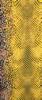 Gele ROMANO SHAWLS AMSTERDAM Sjaal SHAWL ANIMAL  - small