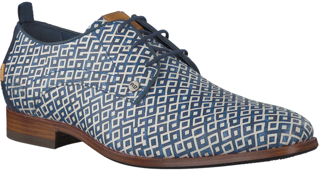 Blauwe REHAB Nette schoenen GREG CHECKER  - large