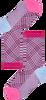 Roze HAPPY SOCKS Sokken HYSTERIA ROSA CREW SOCK  - small