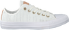 Witte CONVERSE Sneakers CTAS OX WHITE/TAN/MOUSE - small