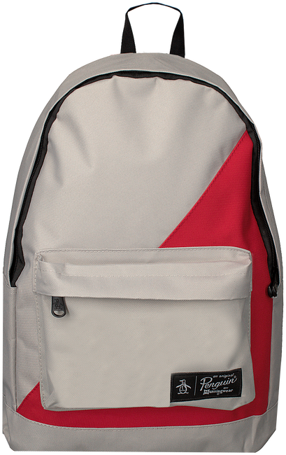 Grijze ORIGINAL PENGUIN Rugtas HOMBOLD BLOCK BACKPACK - large