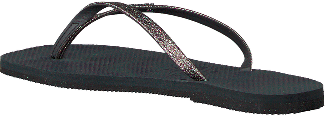 Zwarte HAVAIANAS Teenslippers YOU SHINE  - large