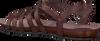Bruine FRED DE LA BRETONIERE Sandalen 170010028 - small