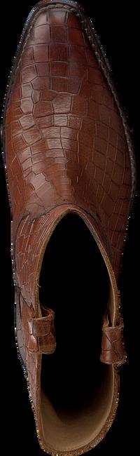 Bruine SHABBIES Enkellaarsjes 192020067 - large