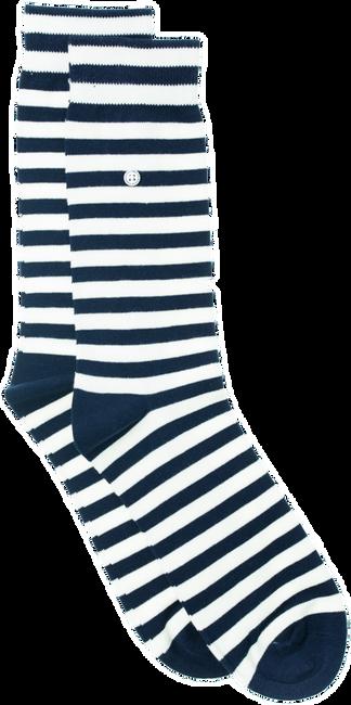 Witte ALFREDO GONZALES Sokken HARBOUR STRIPES - large