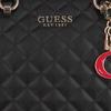 Zwarte GUESS Handtas MELISE LUXURY SATCHEL - small