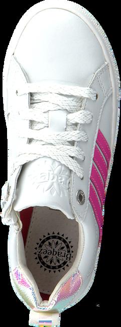 Witte BRAQEEZ Lage sneakers LESLEY LOUWIES  - large