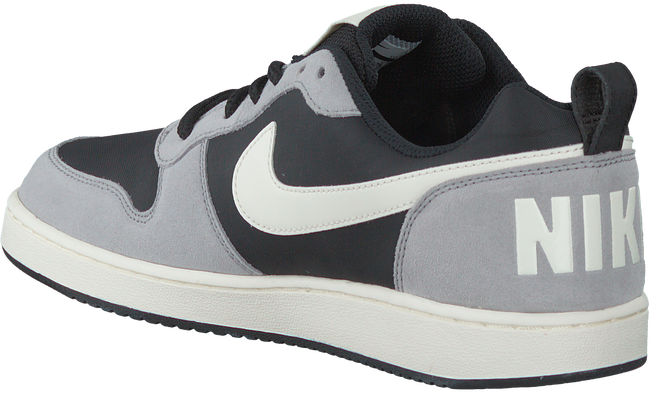 Zwarte NIKE Sneakers COURT BOROUGH LOW PREM  - large