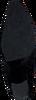 Zwarte NOTRE-V Enkellaarsjes 02A-201  - small