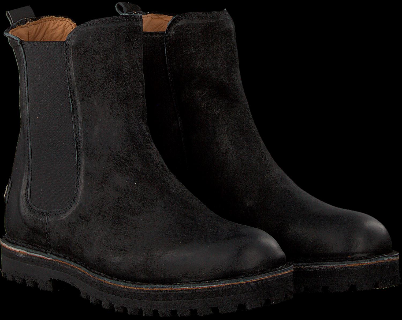 b9f3a25a044 Zwarte SHABBIES Chelsea boots 181020148 - Omoda.nl