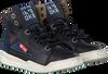 Blauwe RED-RAG Sneakers 13191  - small