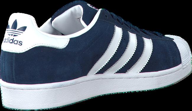 Blauwe ADIDAS Sneakers SUPERSTAR DAMES  - large