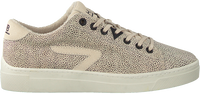 Beige HUB Lage sneakers HOOK-Z LW  - medium