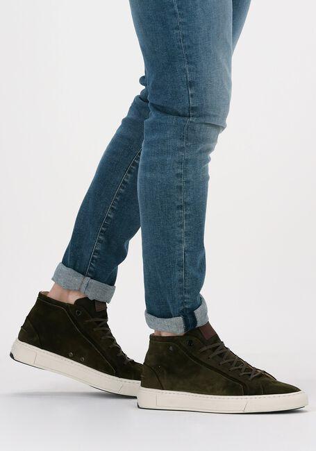 Groene VAN BOMMEL Hoge sneaker 20380  - large