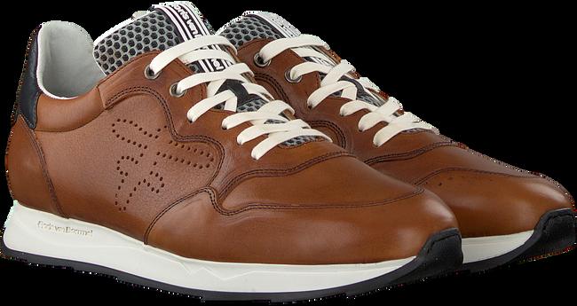 Cognac FLORIS VAN BOMMEL Lage sneakers 16446  - large