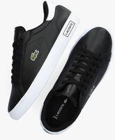 Zwarte LACOSTE Lage sneakers POWERCOURT  - medium