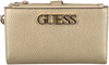 Gouden GUESS Portemonnee UPTOWN CHIC SLG DBL ZIP - small