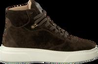 Groene VIA VAI Hoge sneaker JUNO LEE  - medium